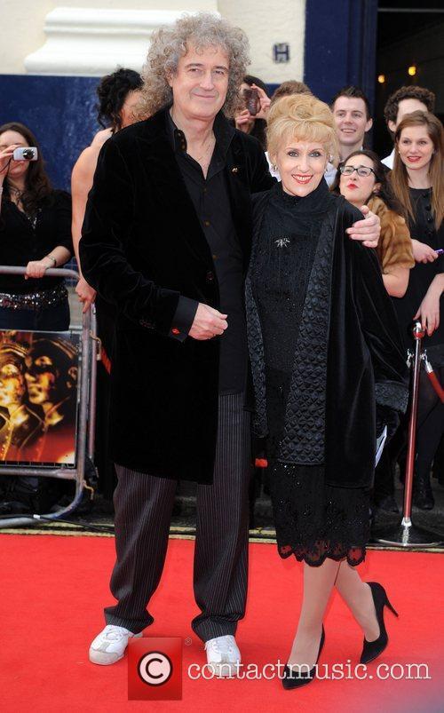 At the 2011 Olivier Awards at