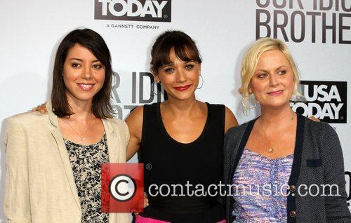 Aubrey Plaza, Amy Poehler and Rashida Jones 1