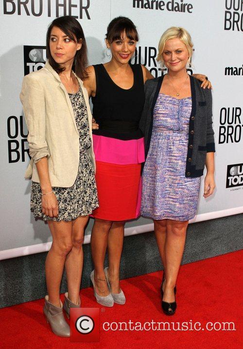Aubrey Plaza, Amy Poehler and Rashida Jones 3