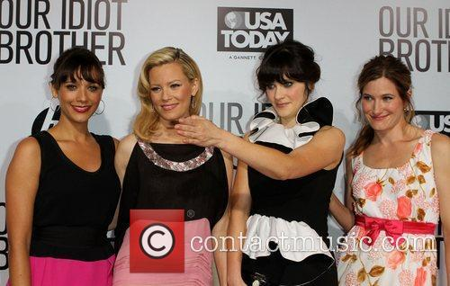 Rashida Jones, Elizabeth Banks, Kathryn Hahn and Zooey Deschanel 6