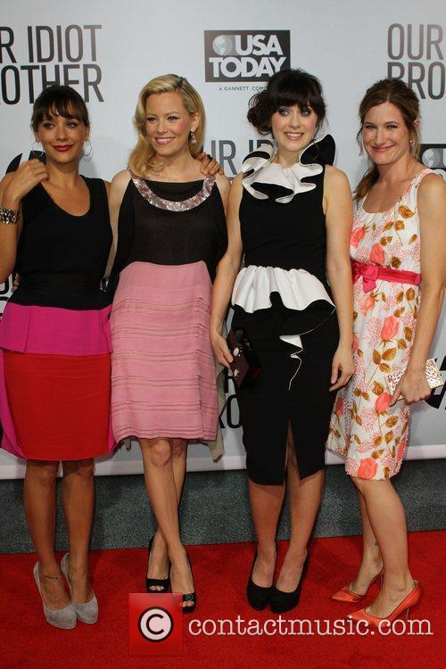 Rashida Jones, Elizabeth Banks, Kathryn Hahn and Zooey Deschanel 2