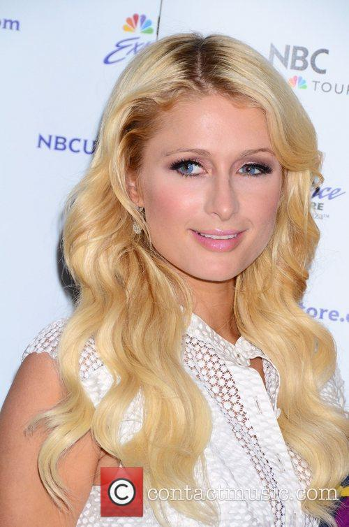 Paris Hilton Promotes her new TV show The...
