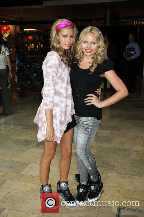 Hailey Baldwin, Alli Simpson  Pastry Shoes Presents...