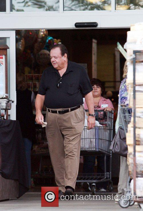 Paul Sorvino is helped with his groceries as...