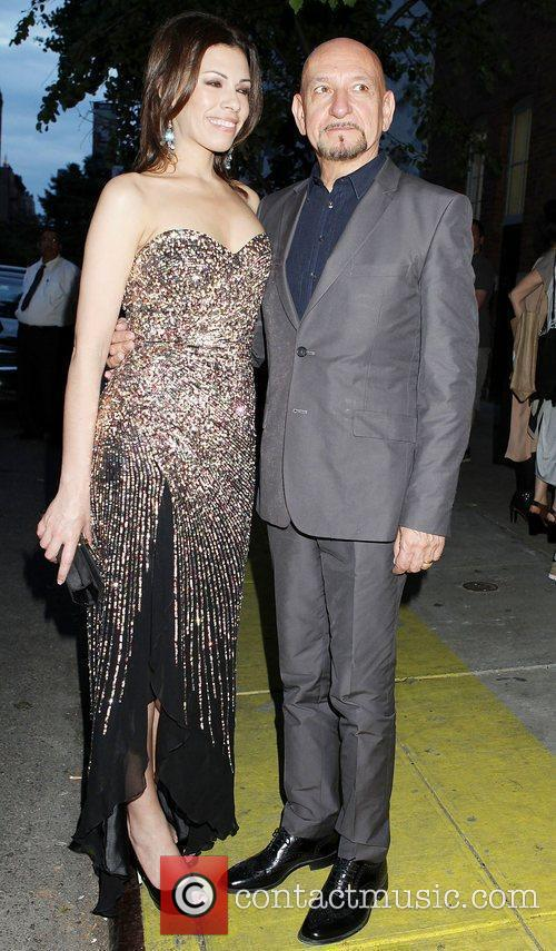 Sir Ben Kingsley and Daniela Lavende  attend...
