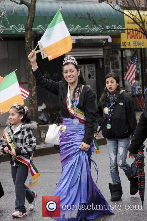 Atmosphere 2011 St. Patrick's Day Parade, Sunnyside, Queens...
