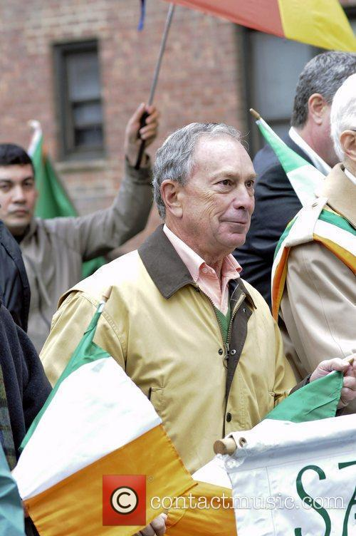Mayor Michael Bloomberg 2011 St. Patrick's Day Parade,...
