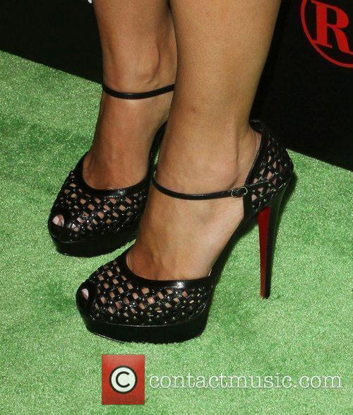 Amber Rose Radioshack's HTC EVO 3D Launch Party...