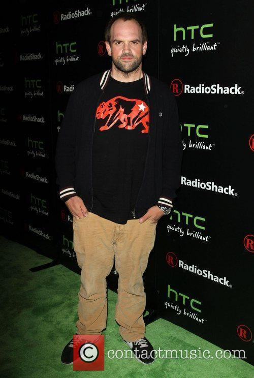 Ethan Suplee Radioshack's HTC EVO 3D launch party...