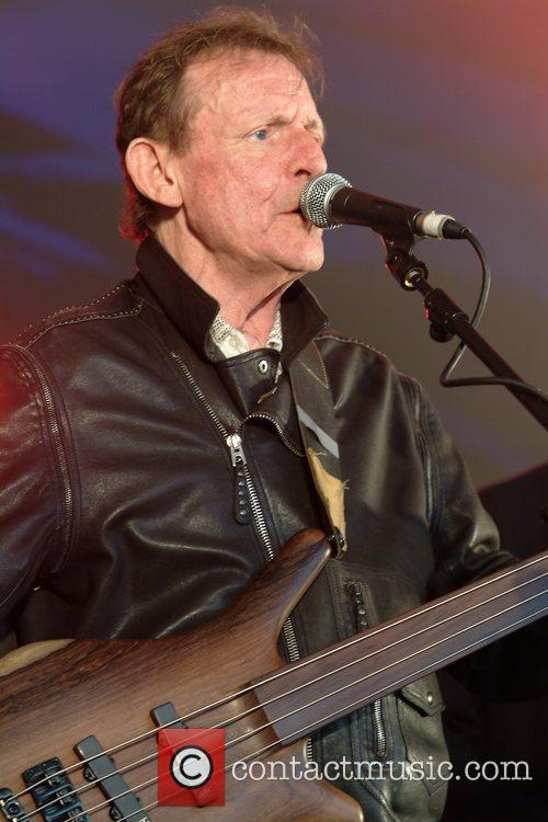 Jack Bruce performing at the Rhythm Festival Biggleswade...