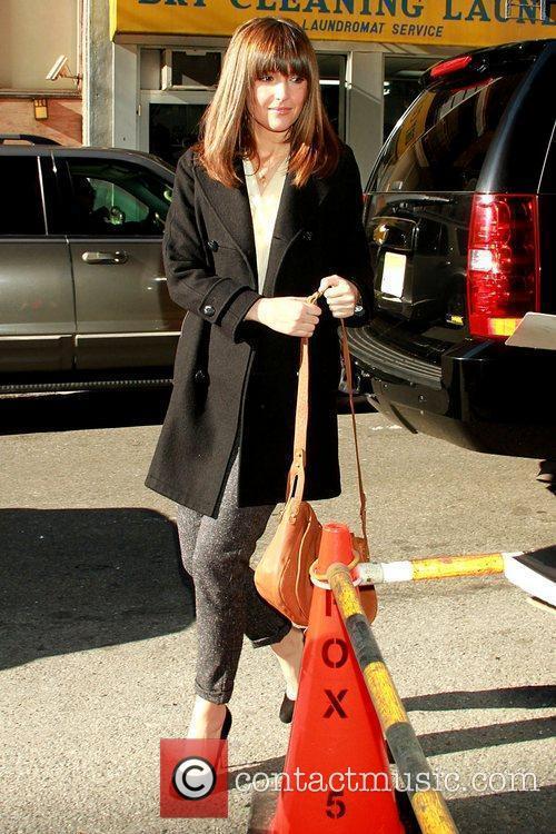 Rose Byrne  arrives at FOX 5 'Good...