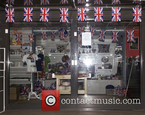 Royal Souvenir shop ready for the wedding of...