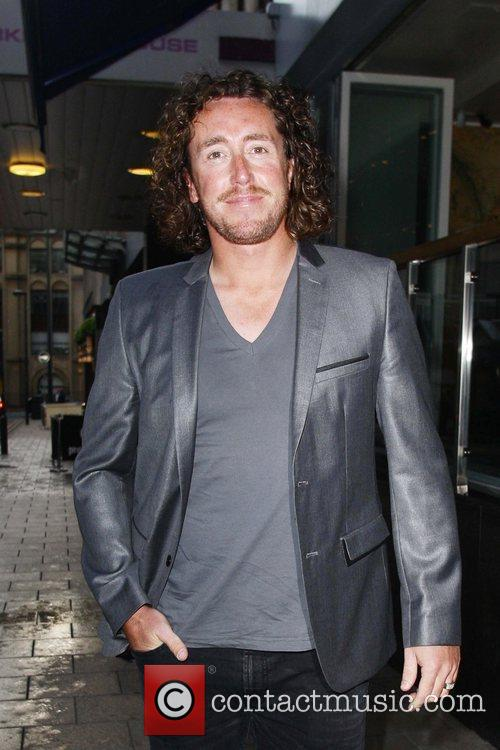 Yorkshire Left arm fastbowler, Ryan Sidebottom attends the...
