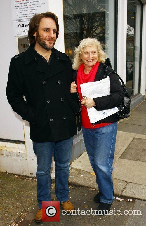 Sandra Dickinson and her husband Mark Osmond out...