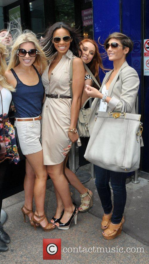 Mollie King, Rochelle Wiseman, The Saturdays and Una Healy 5