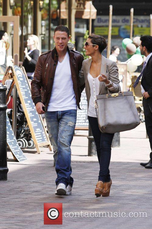 Frankie Sandford, The Saturdays and Wayne Bridge 5