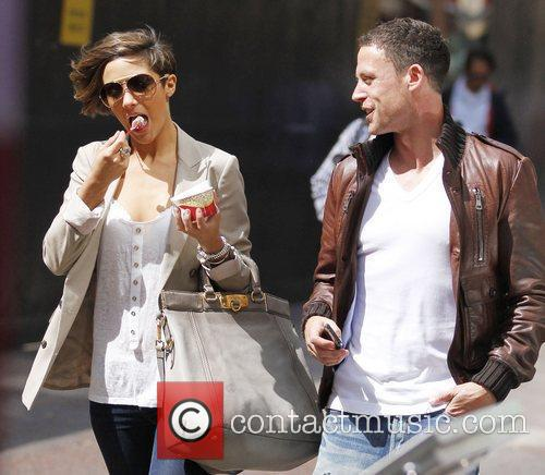 Frankie Sandford, The Saturdays and Wayne Bridge 4