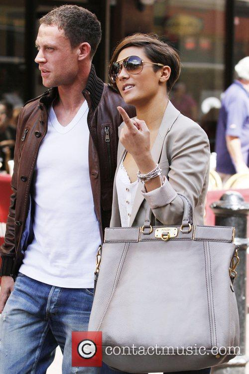 Frankie Sandford, The Saturdays and Wayne Bridge 2