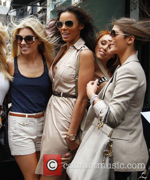 Mollie King, Rochelle Wiseman, The Saturdays and Una Healy 8