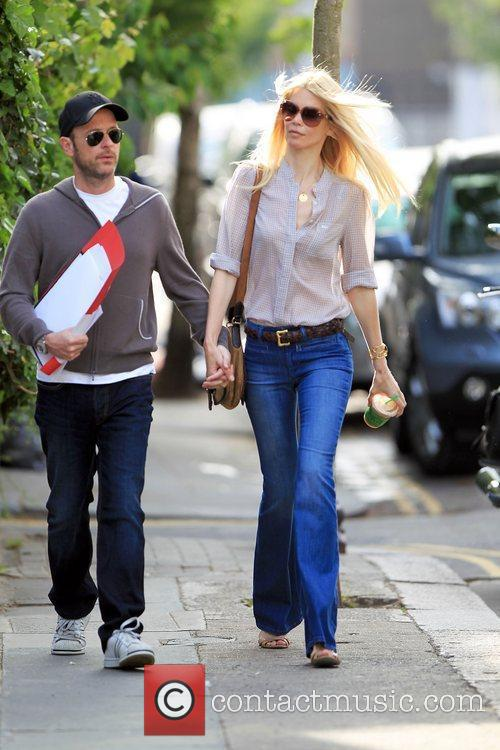 Matthew Vaughn and Claudia Schiffer 12