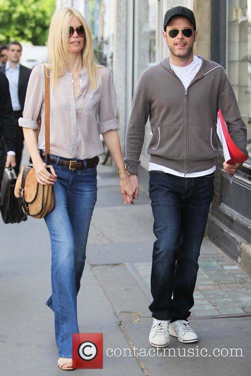 Matthew Vaughn and Claudia Schiffer 10