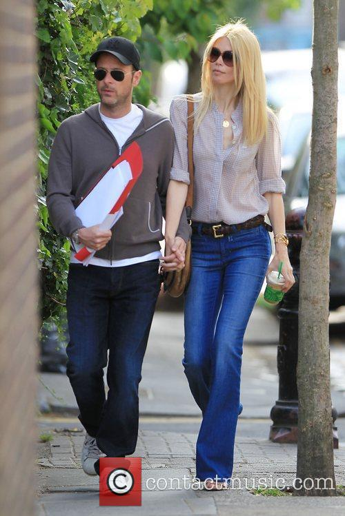 Matthew Vaughn and Claudia Schiffer 9