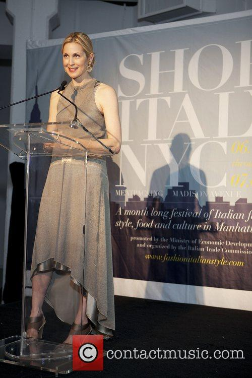 Kelly Rutherford  The Italian Trade Commission kicks...