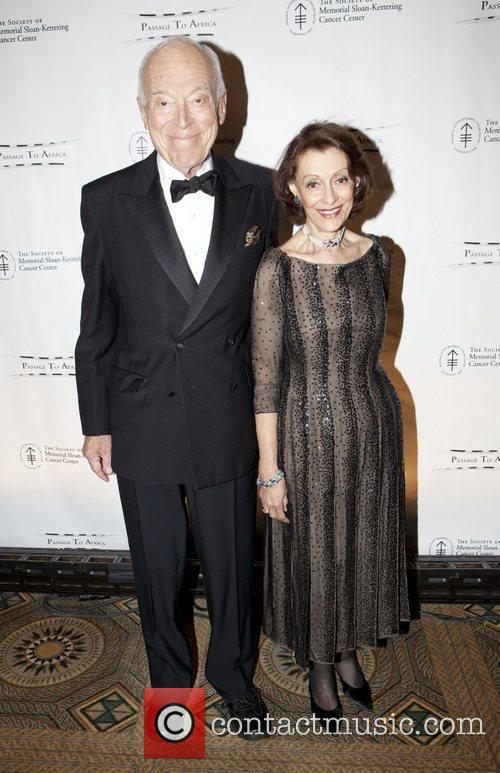 Leonard & Evelyn Lauder attend the Society of...