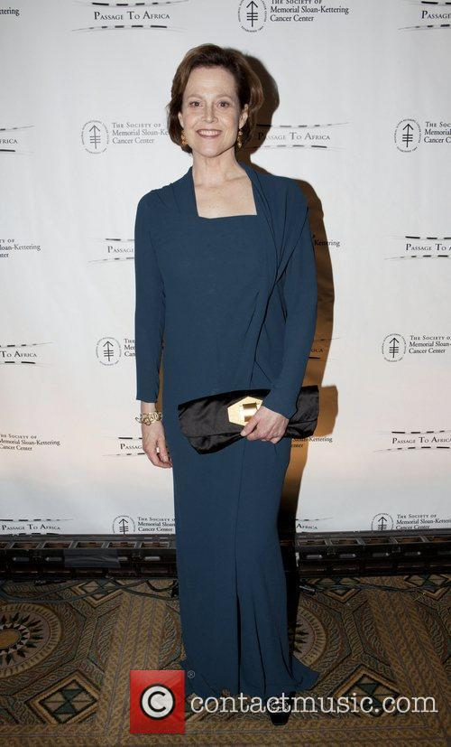 Sigourney Weaver attend the Society of Memorial Sloan-Kettering...