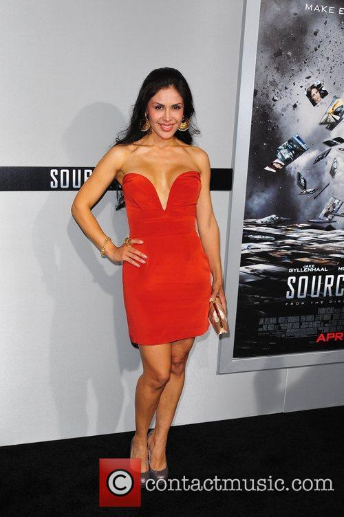 Carla Ortiz Los Angeles Premiere of 'Source Code'...