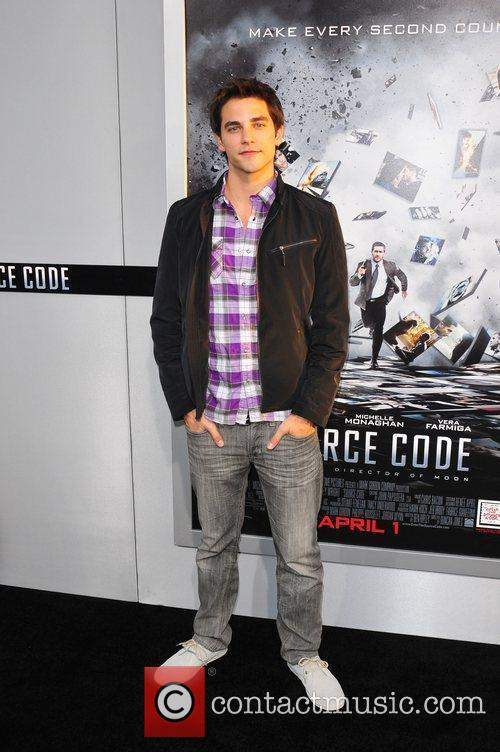 Brant Daughtry Los Angeles Premiere of 'Source Code'...