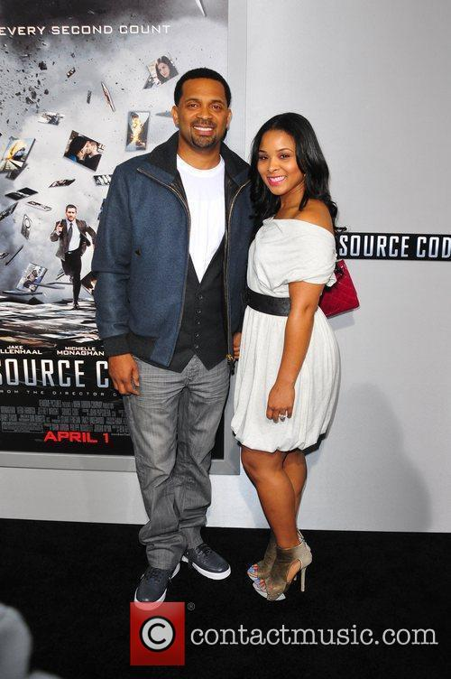Mike Epps Los Angeles Premiere of 'Source Code'...