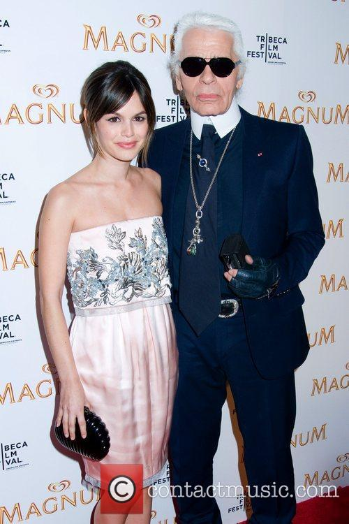 Rachel Bilson and Karl Lagerfeld 4