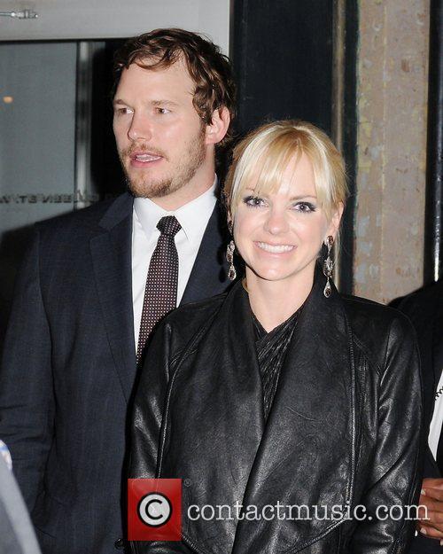 Anna Faris and Chris Pratt 3