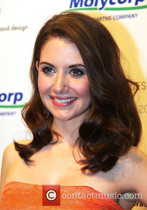 Alison Brie The Fluorescent Ball at the Museum...
