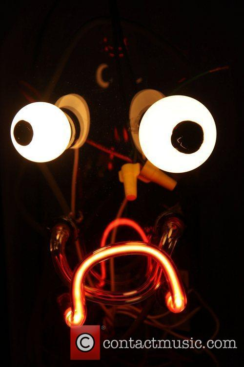 Human Head by Jen Elek The Fluorescent Ball...