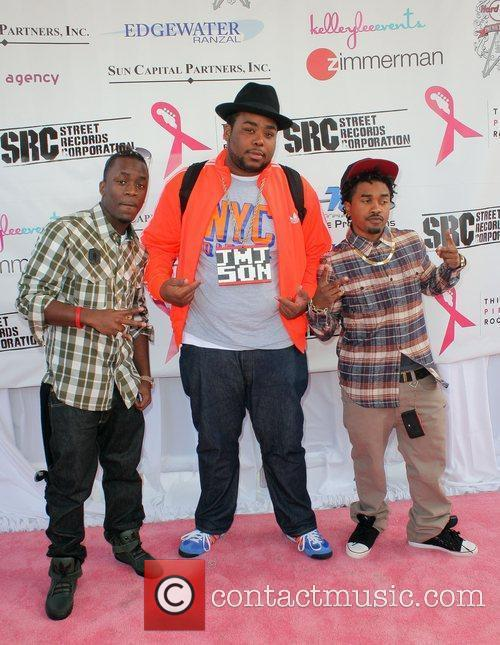 Iyaz, Jason Mitchell Jr, Mann  Think Pink...