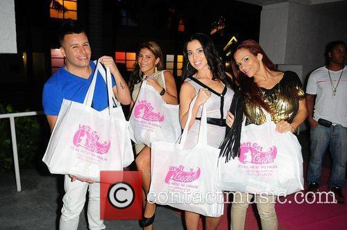 Talent Agent Johnny Donovan, TV personality Priscilla Mennella,Tasha...