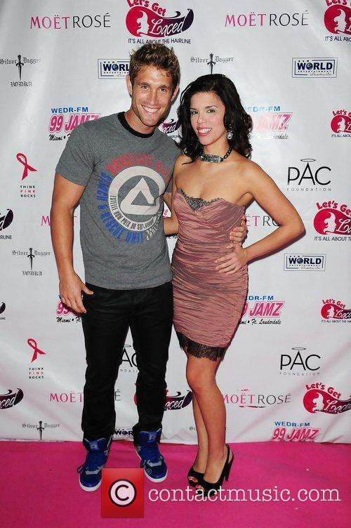 TV personality CJ koegel and Jane Castro...