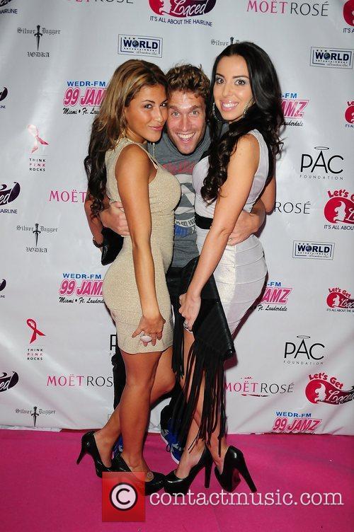 TV personality Priscilla, Mennella, CJ koegel and Tasha...