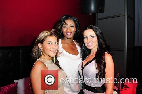 TV personality Priscilla Mennella, Tocarra Jones and Tasha...