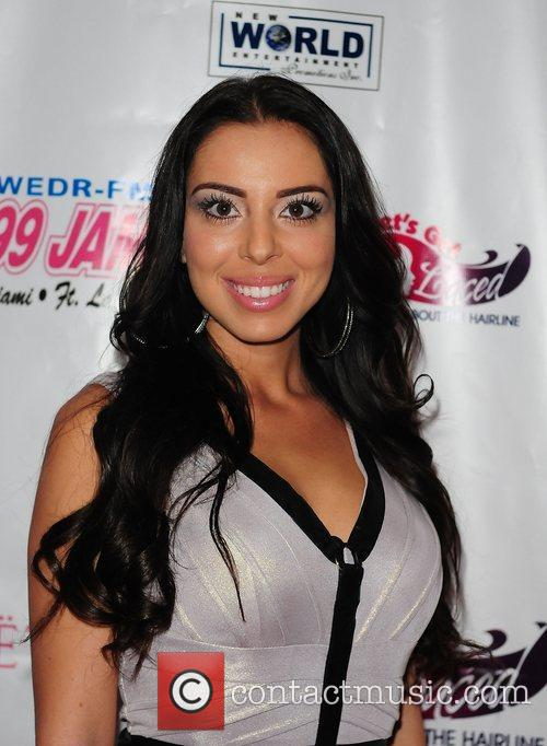 TV personality Tasha Malek  at Lets Get...