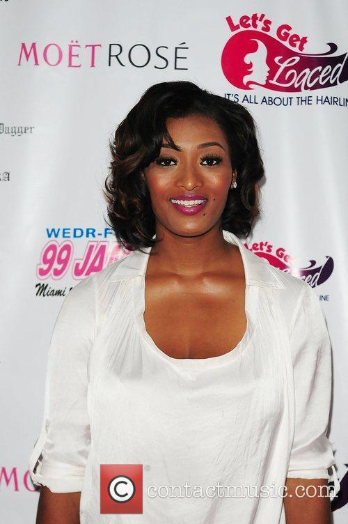 TV personality Tocarra Jones  at Lets Get...