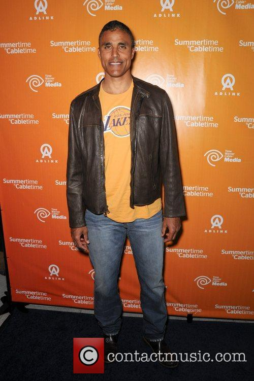 Rick Fox from the LA Lakers Time Warner...