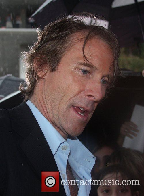 Director, Michael Bay attends the special red carpet...