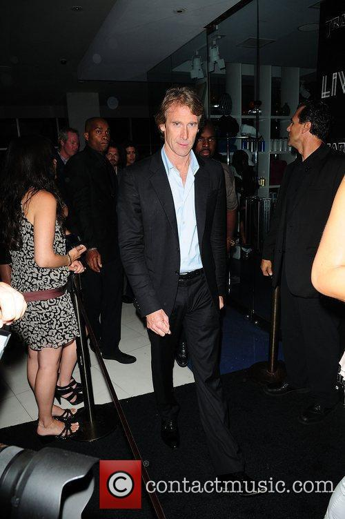 Michael Bay attends the special red carpet VIP...