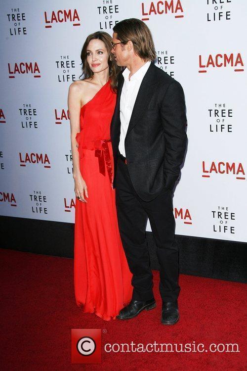 Angelina Jolie and Brad Pitt 1