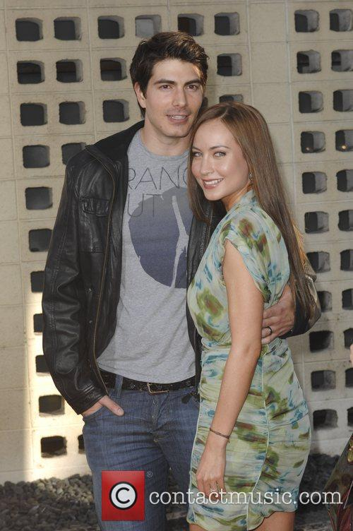 Brandon Routh and Courtney Ford 3