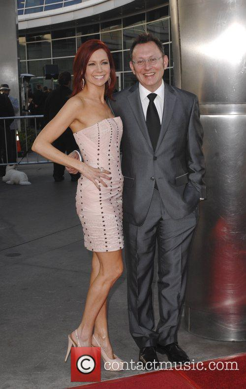 Carrie Preston, Michael Emerson  at the premiere...