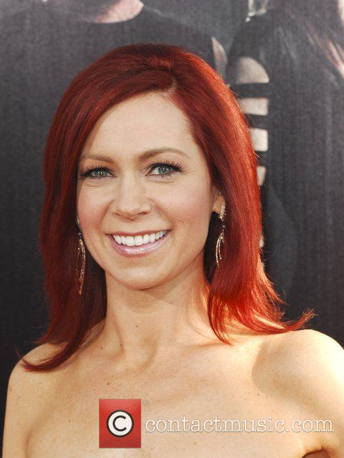 Carrie Preston  at the premiere of HBO's...